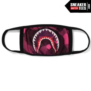 Bape Mask Camo Pink Shark