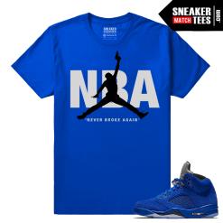 Blue Suede 5s Shirt