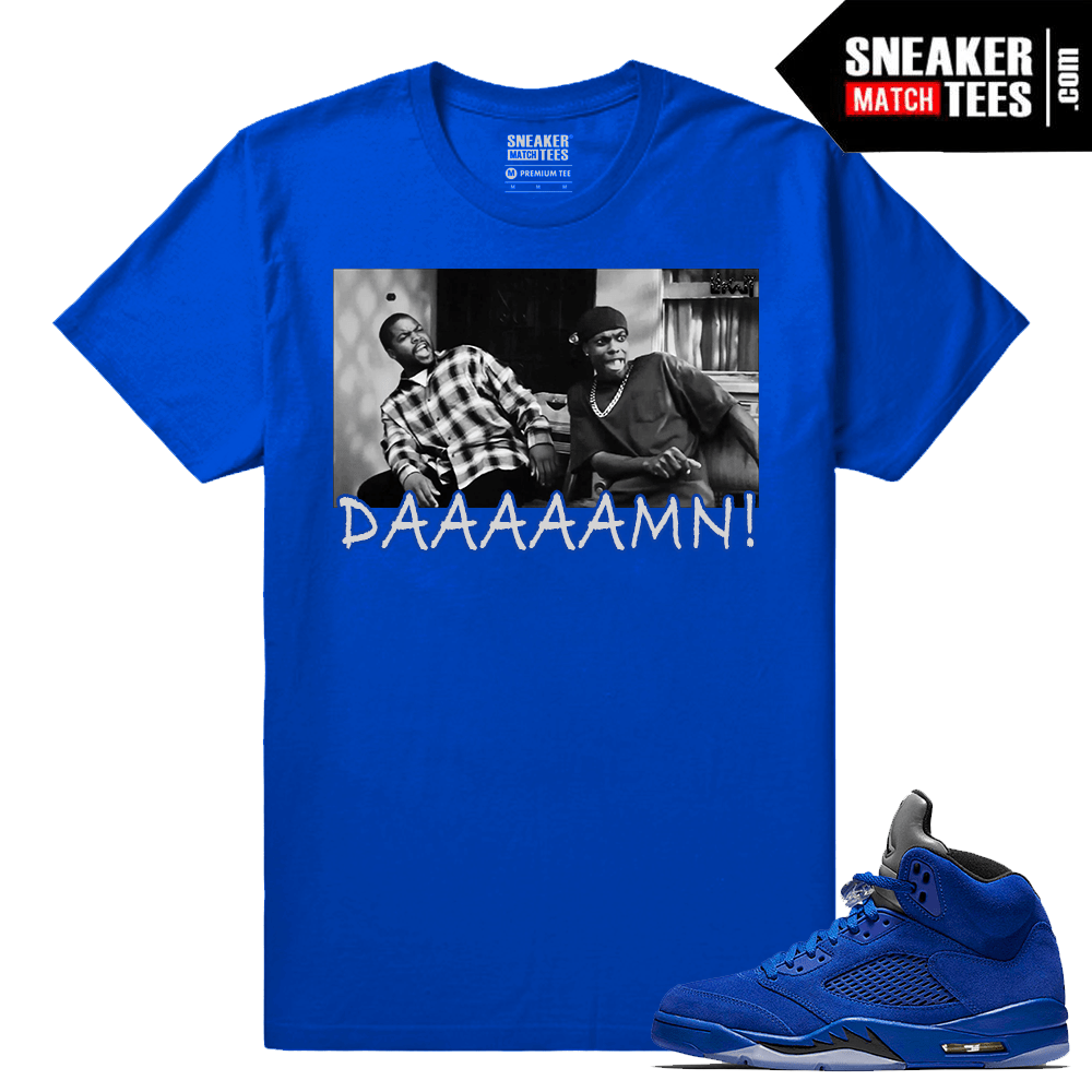 Blue Suede 5s t shirt