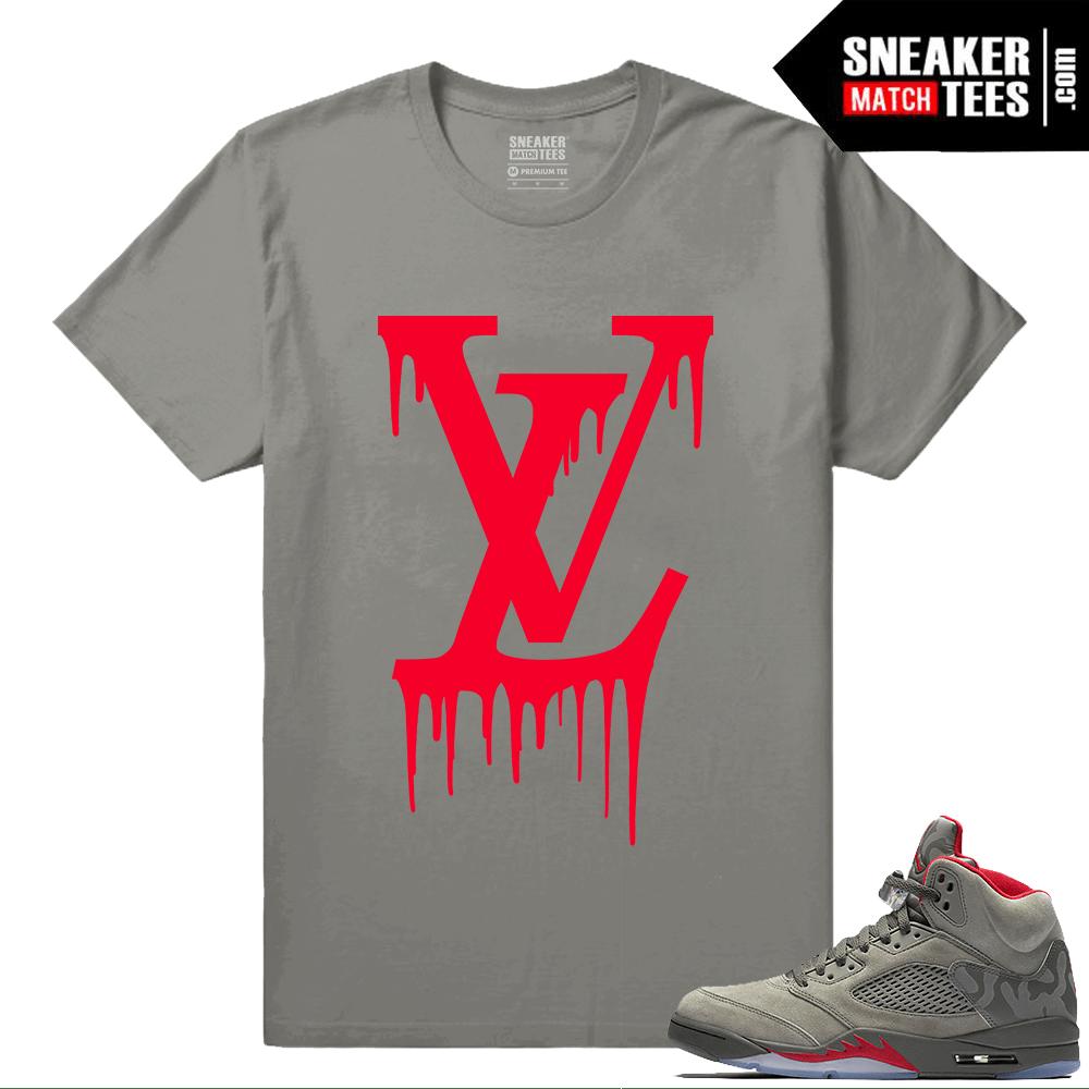 da02a32ab46 Jordan 5 Camo Shirts to match - Sneakermatchtees.com