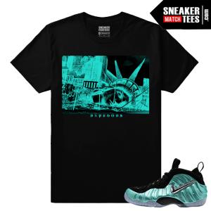 Foamposite Sneaker tees Island Green Foams
