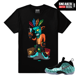 Island Green Foamposites Shirts Matching Tees