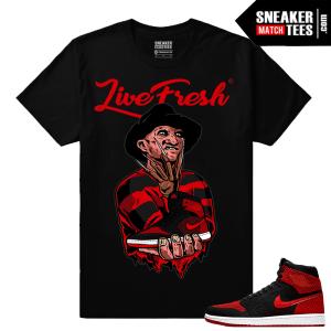 Jordan 1 FlyKnit Banned Shirts for Matching