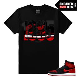 Jordan 1 Flyknit Banned Streetwear t shirts