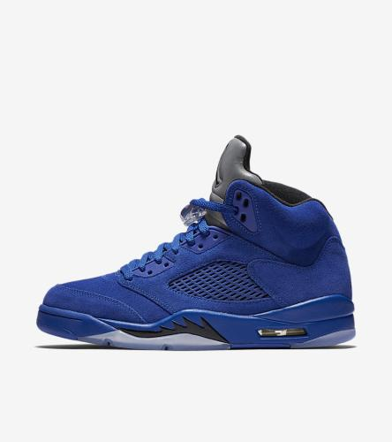 Jordan 5 Blue Suede _2