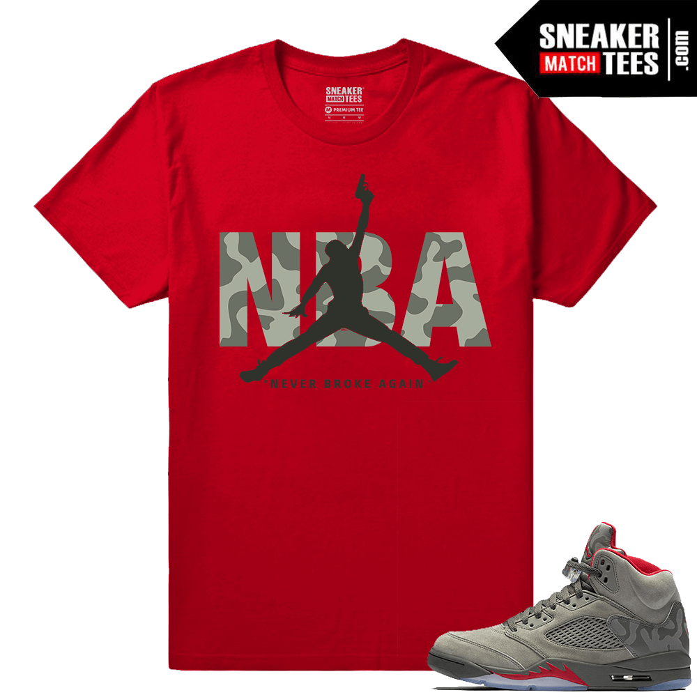 562275726e8 Jordan 5 Camo Shirts to match - Sneakermatchtees.com