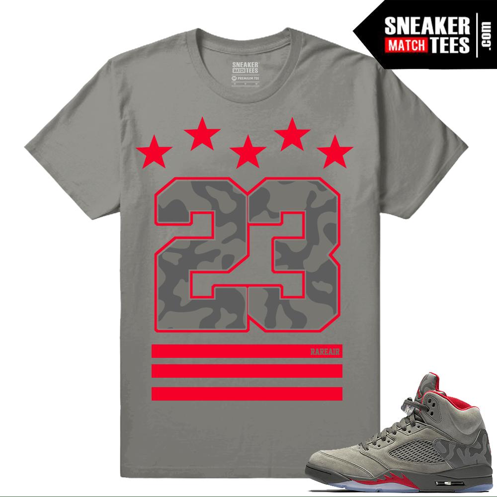 1bae960fb82 Jordan 5 Camo Shirts to match - Sneakermatchtees.com
