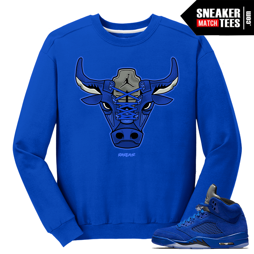 Jordan 5 Flight Suit East Crewneck