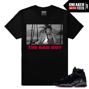 Jordan 8 Bred T shirt Match