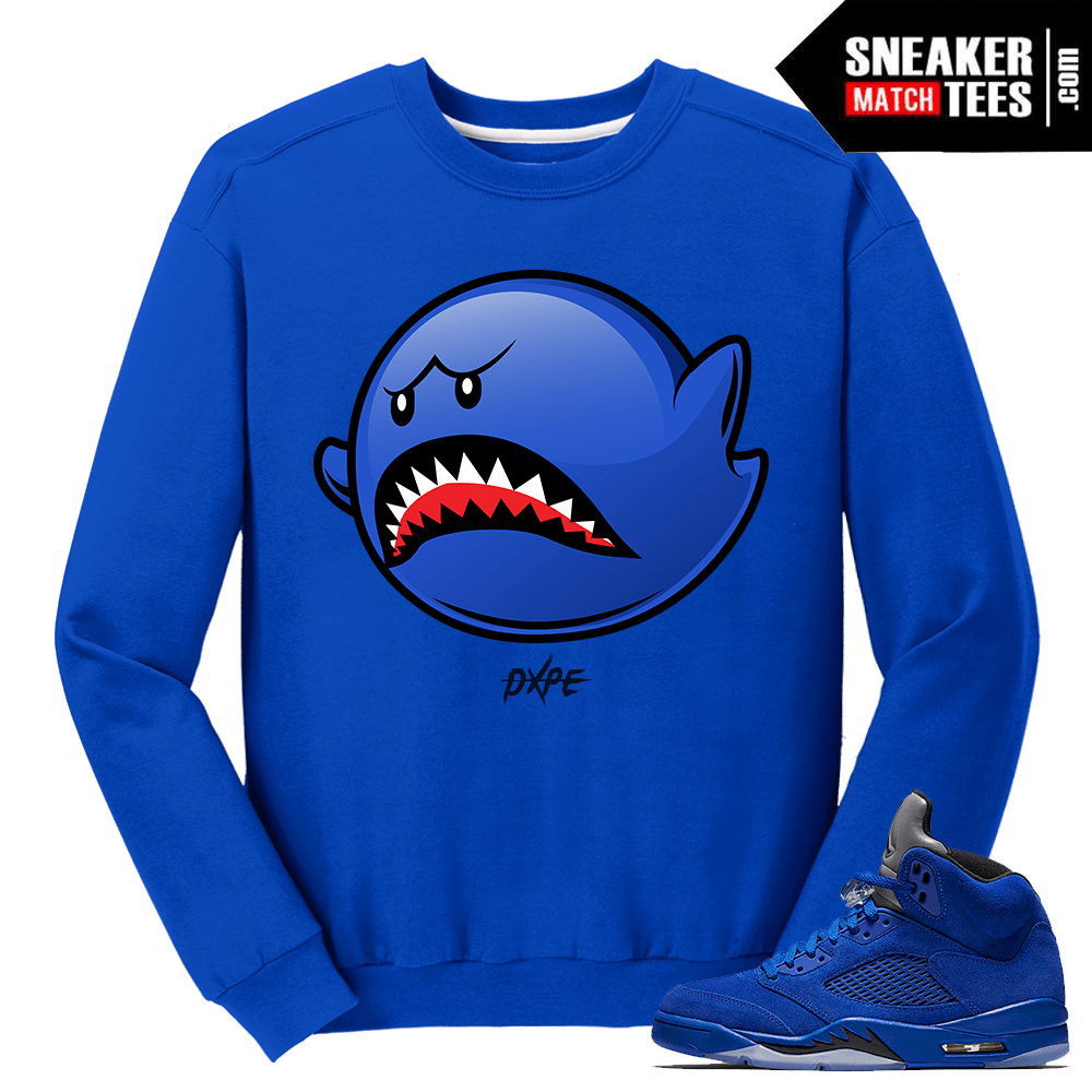Jordan Retro 5 Flight Suit East Crewneck