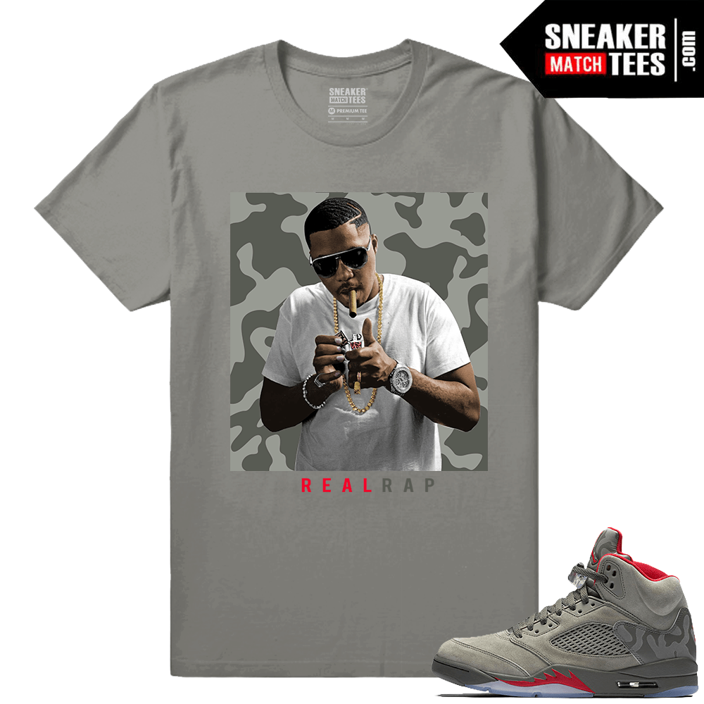 2e40c62bf983 Jordan 5 Camo Shirts to match - Sneakermatchtees.com
