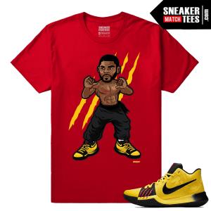 Nike Kyrie 3 Mamba Mentality Sneaker tee Shirt