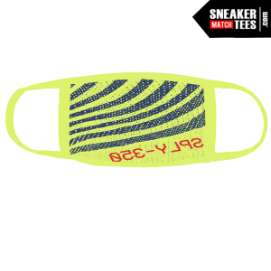 Semi Frozen Yellow Yeezy 350 Boost Mask