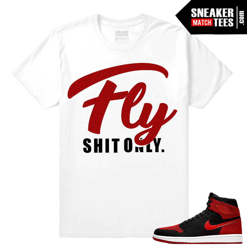 726ad323 Shirts to Match Jordan 1 Banned FlyKnit - Sneaker Match Tees