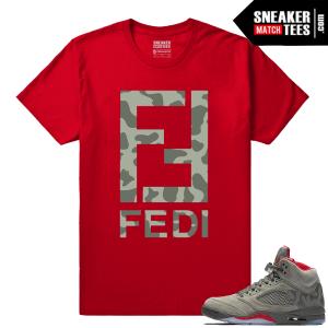 Streetwear Jordan 5 Camo
