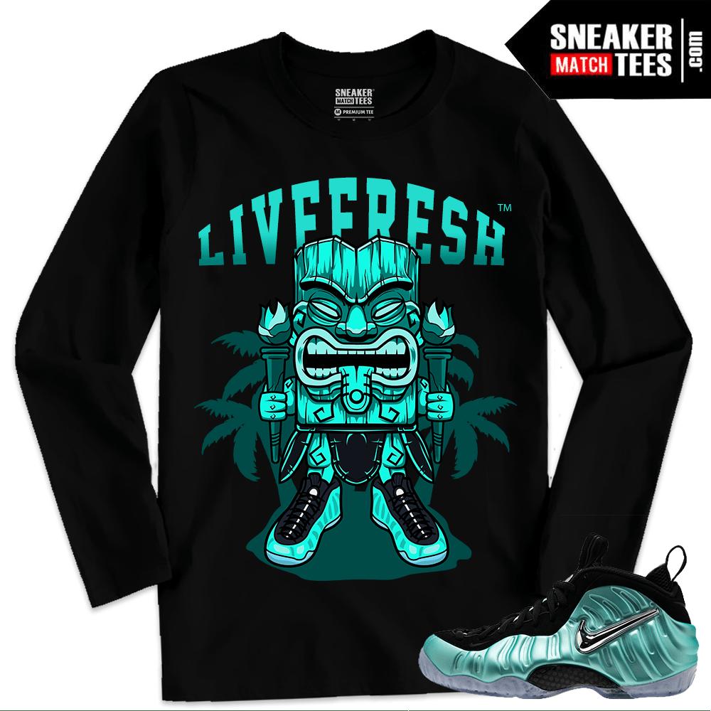 a162bfa3305d0 Streetwear Sneaker tees Match Island Green Foams