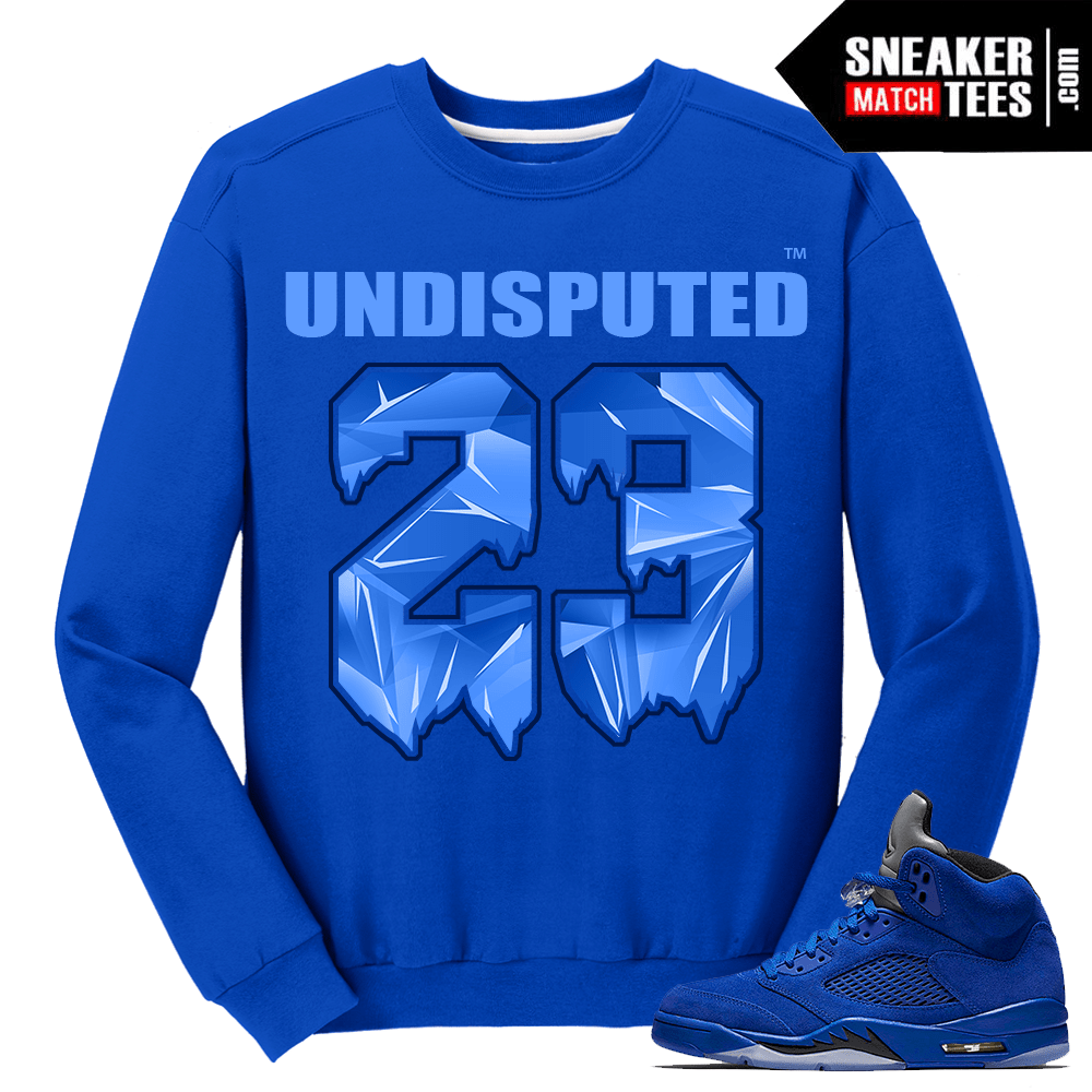 Undisputed 23 Blue Suede 5 Crewneck Sweater