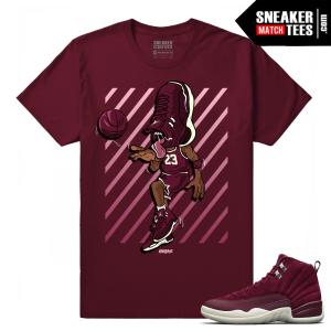 Air Jordan 12 Retro Bordeaux shirts