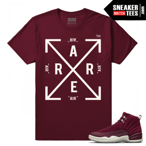 Air jordan Retro 12 Sneaker tees Bordeaux