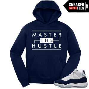 Jordan 11 Win Like 82 Navy Hoodie Master the Hustle