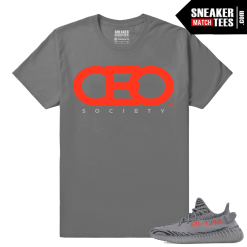 Yeezy Boost 350 V2 Beluga 2 Grey T shirt CEO Society