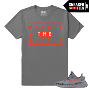 Yeezy Boost 350 V2 Beluga 2 Grey T shirt Master the Hustle