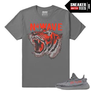 Yeezy Boost 350 V2 Beluga 2 Grey T shirt NuWave Tiger