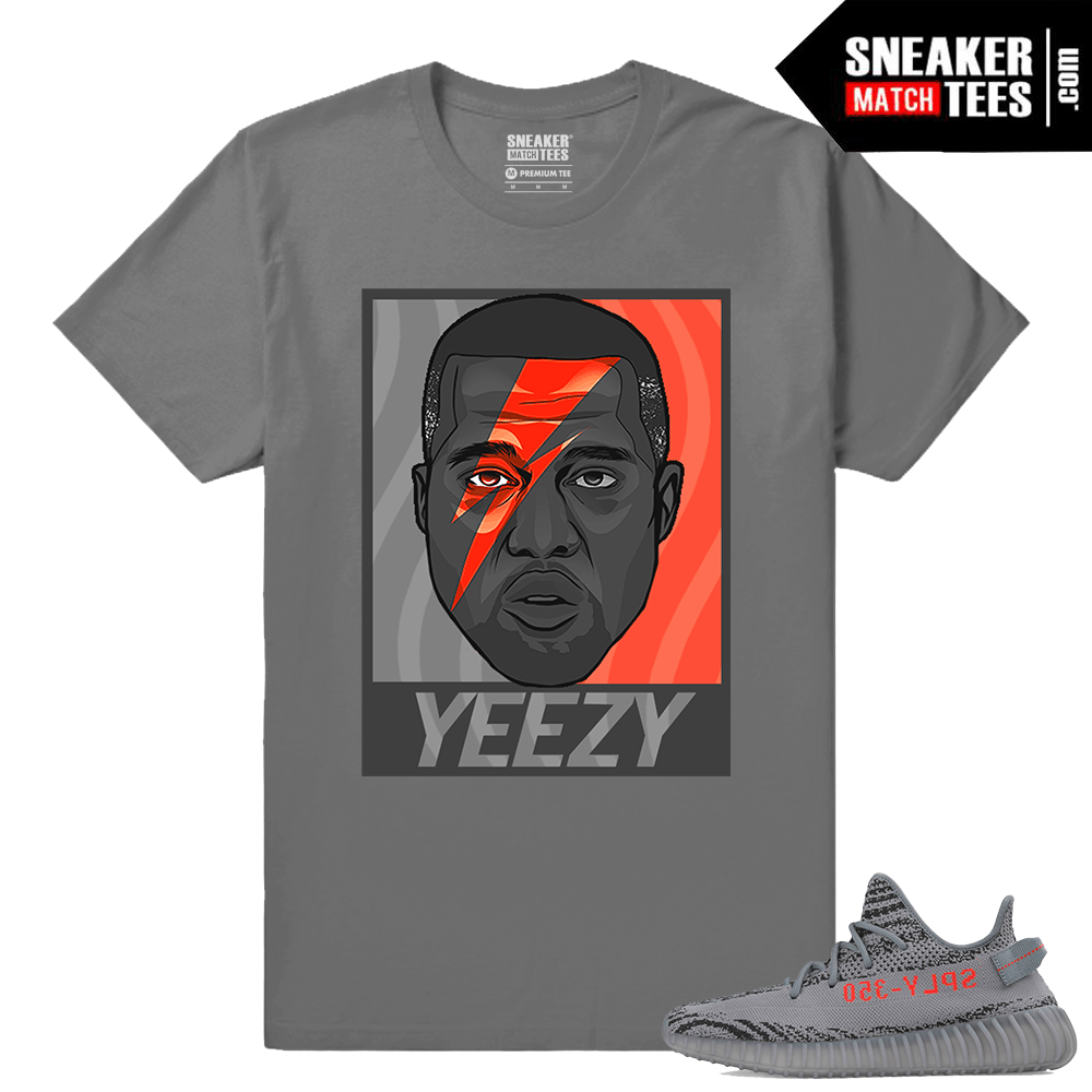 e274eea7c0f75 Yeezy Boost 350 V2 Beluga 2 Grey T shirt Yeezy Bowie. New Releases