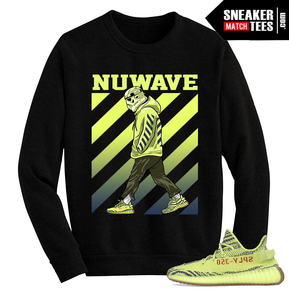 07b44e02f Frozen Yellow Yeezy shirts and clothing designed to match sneakers