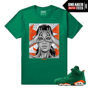 Gatorade 6s Green Sneaker tees Mind Control