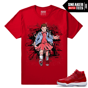 Jordan 11 Win Like 96 Sneaker tees Eleven Stranger Things