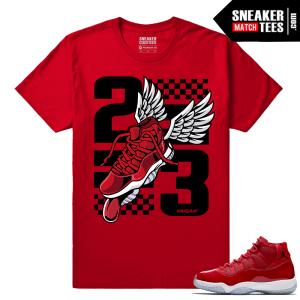 Jordan 11 Win Like 96 Sneaker tees Fly Kicks 11