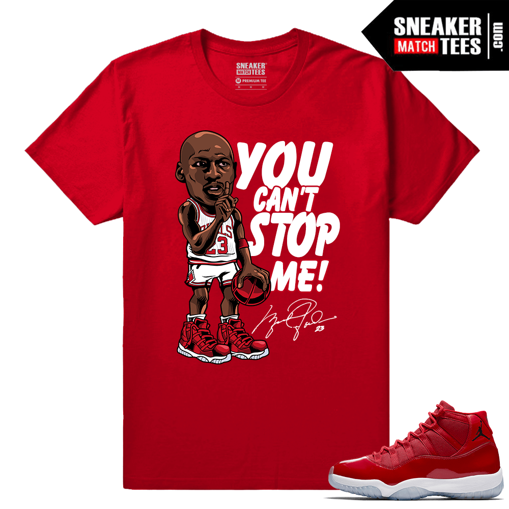 Jordan 11 Win Like 96 Sneaker tees MJ Unstoppable