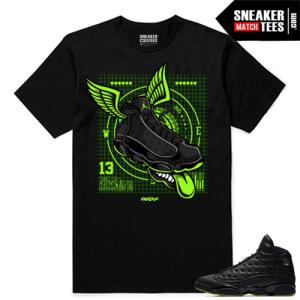 Altitude 13 Sneaker tees Black Fly Kicks