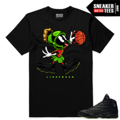 Altitude 13 Sneaker tees Black Live Fresh Martian