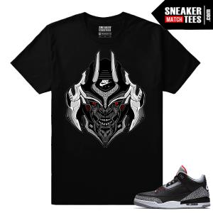Jordan 3 Black Cement Sneaker tees Mega Tron Cement 3