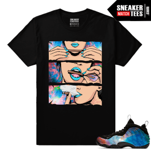 Big Bang Foamposites Sneaker Match Tees Black Blunts