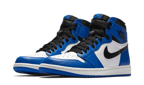 Jordan 1 Game Royal Sneaker Match Tees