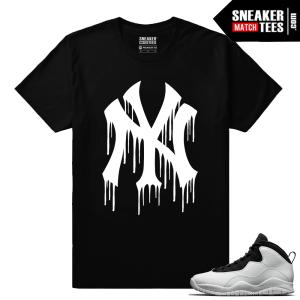 Jordan Retro 10 Im Back Match Sneaker tee Shirt