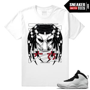 Jordan 10 Im Back Sneaker Match Tees Predator 10s