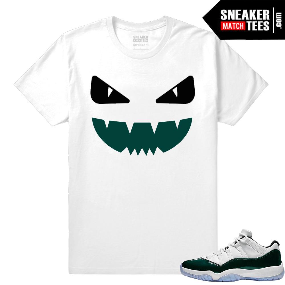 94e47980d1502a Jordan-11-Low-Emerald-Sneaker-Match-Tees-Designer-Monster.png