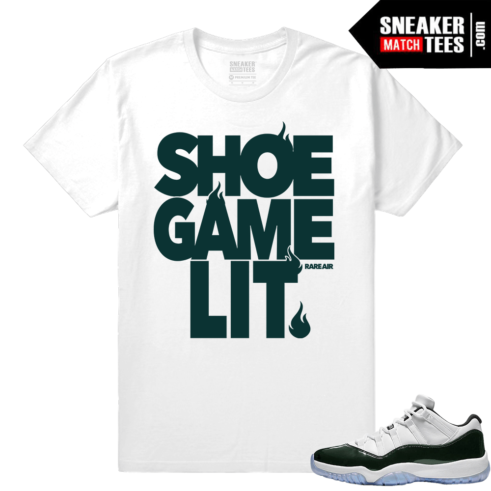 d24fb908dc2b2d Air Jordan 11 low Easter tee shirt - Sneaker Match Tees