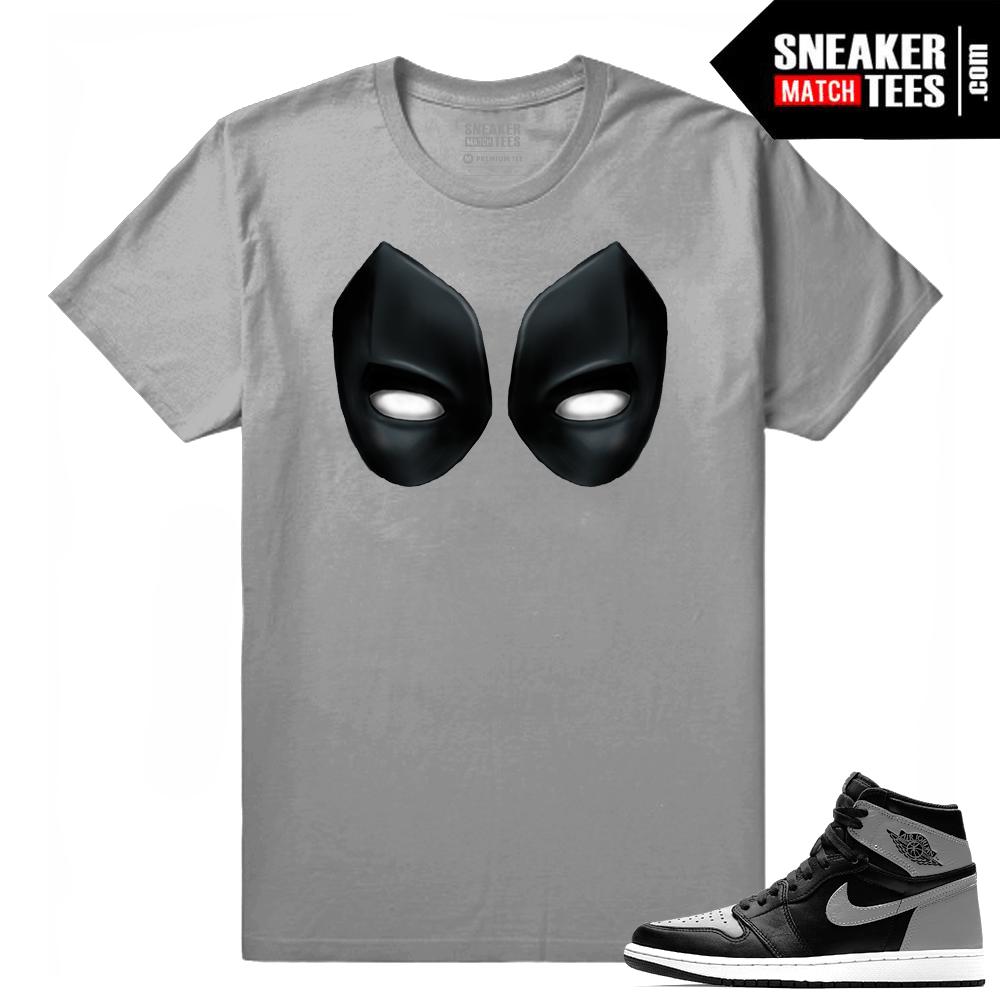 6fe86ab6d705 Air Jordan 1 Retro High OG Shadow - Sneaker Match Tees