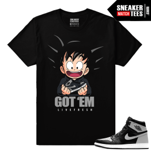 Jordan 1 Shadows matching tee shirt