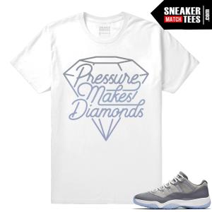 Jordan 11 Low Cool Grey matching Shirt