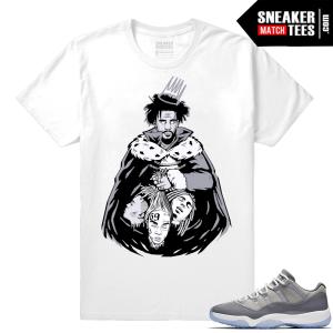 KOD J Cole art shirt match Cool Grey 11