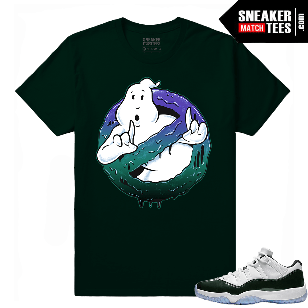 4b3f5227fb5a62 Emerald 11 Lows Sneaker Match Tees Streetwear Collection