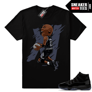 Air Jordan 11 Cap and Gown Sneaker shirt