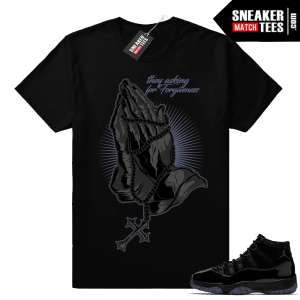 Air Jordan 11 Cap and Gown tees