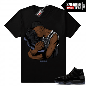 Air Jordan 11 shirt to match